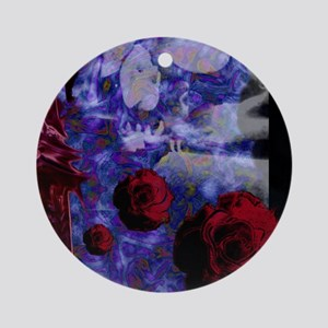 Tower Rose Ornament (Round)