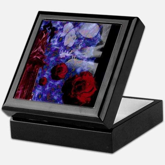 Tower Rose Keepsake Box