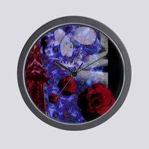 Tower Rose Wall Clock