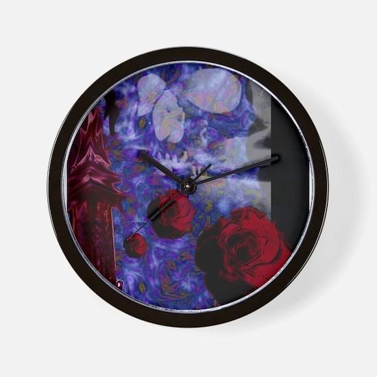 Tower Rose Wall Clock
