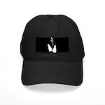 Fins & Bubbles Black Cap