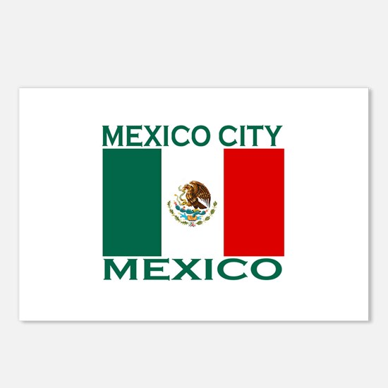 Mexico City, Mexico Postcards (Package of 8)