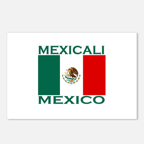 Mexicali, Mexico Postcards (Package of 8)