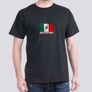 Mexican Flag (Dark) Dark T-Shirt