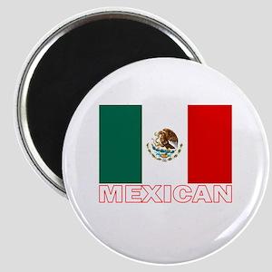 Mexican Flag (Dark) Magnet