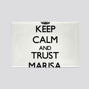 Keep Calm and trust Marisa Magnets