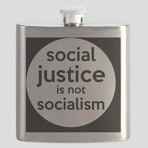 socialjusticebutton Flask