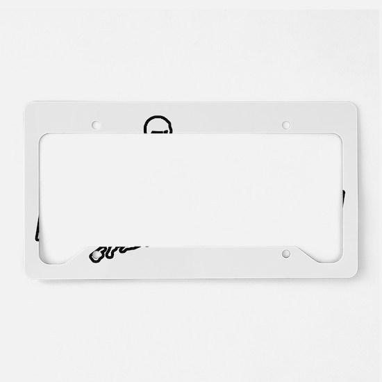 BangDitchesDesign2 License Plate Holder