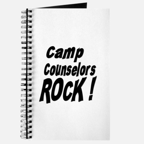 Camp Counselors Rock ! Journal