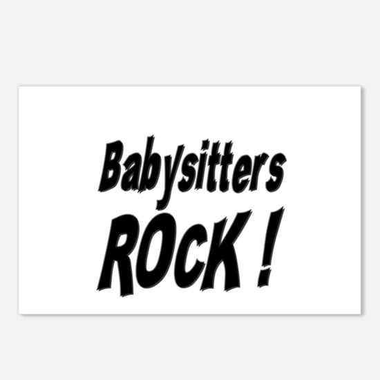 Babysitters Rock ! Postcards (Package of 8)