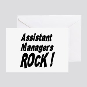 Assistant Managers Rock ! Greeting Cards (Package