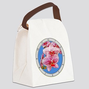 Sky Orchid Canvas Lunch Bag