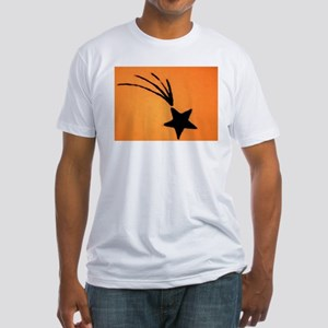 Shooting Star Tattoo Fitted T-Shirt