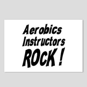 Aerobics Instructors Rock ! Postcards (Package of