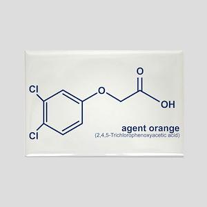 Agent Orange Rectangle Magnet