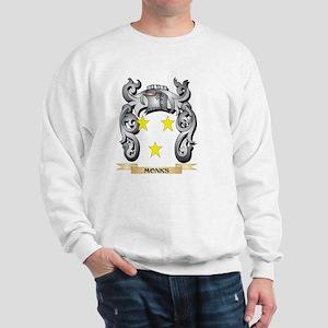 Monks Coat of Arms - Family Crest Sweatshirt