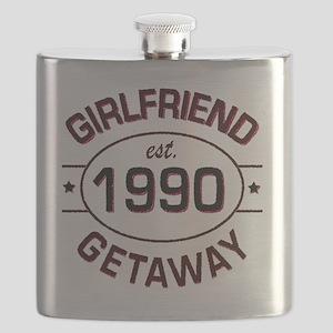 Girlfriend Getaway 1990 custom Flask