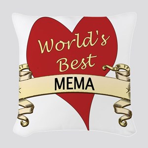Mema Woven Throw Pillow