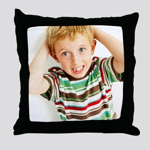 Head lice Throw Pillow
