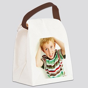 Head lice Canvas Lunch Bag