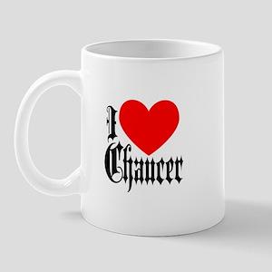 I Love Chaucer Mug