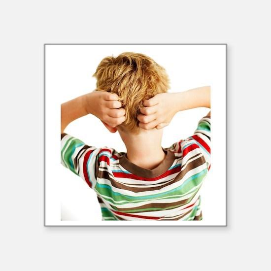 """Head lice Square Sticker 3"""" x 3"""""""