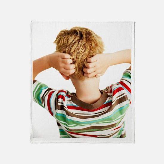 Head lice Throw Blanket