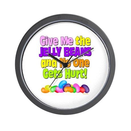 Give me the Jelly Beans Wall Clock