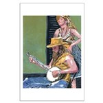Street Musicians French Quarter Large Poster
