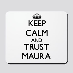 Keep Calm and trust Maura Mousepad