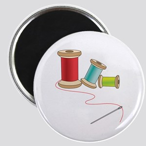 Thread and Needle Magnets
