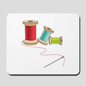 Thread and Needle Mousepad