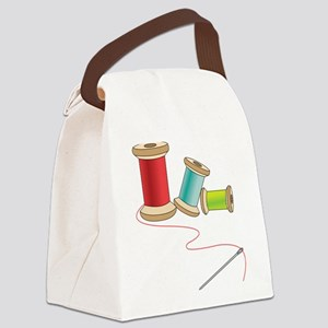 Thread and Needle Canvas Lunch Bag