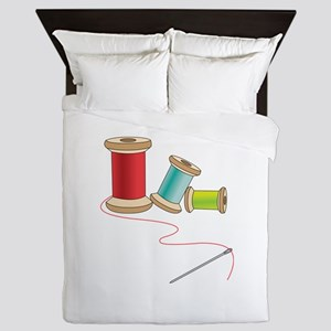 Thread and Needle Queen Duvet