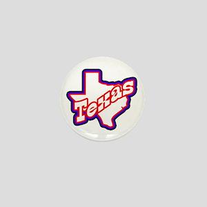 Sporty Texas Mini Button