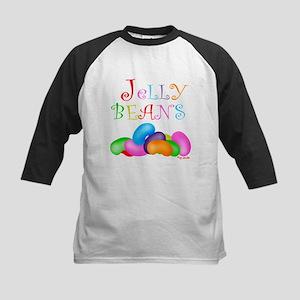 Colorful Jelly Beans Kids Baseball Jersey