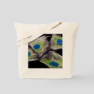 HeLa culture cells Tote Bag