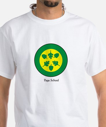West Page School White T-Shirt