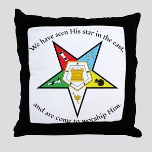 Eastern Star Matthew 2:2 Throw Pillow
