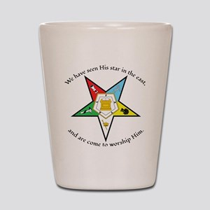 Eastern Star Matthew 2:2 Shot Glass