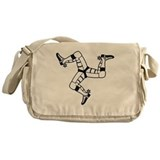 Triumph motorcycle Canvas Messenger Bags