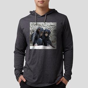 Chimpanzee002 Long Sleeve T-Shirt