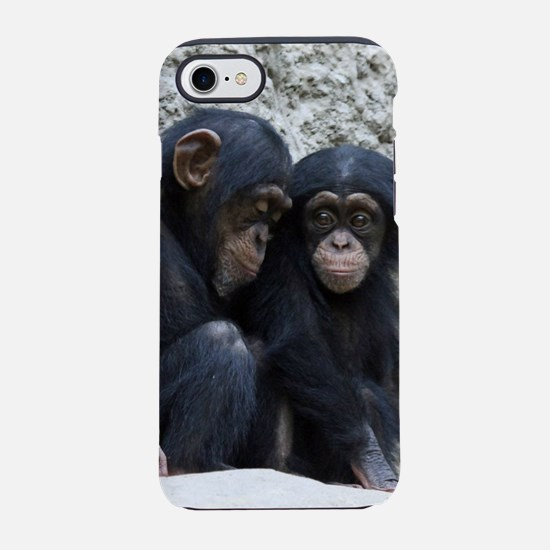 Chimpanzee002 iPhone 7 Tough Case