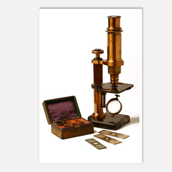 Historical microscope Postcards (Package of 8)
