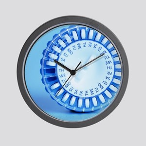 Hormone replacement therapy pills Wall Clock