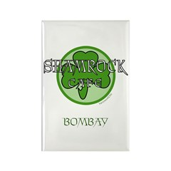 Shamrock Cafe-Bombay Rectangle Magnet (10 pack)