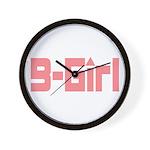 B-Girl Wall Clock