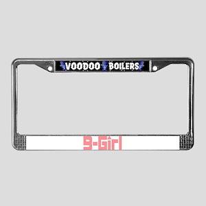 B-Girl License Plate Frame