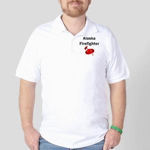 Alaska Firefighter Golf Shirt