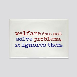 Welfare Ignores Problems Rectangle Magnet
